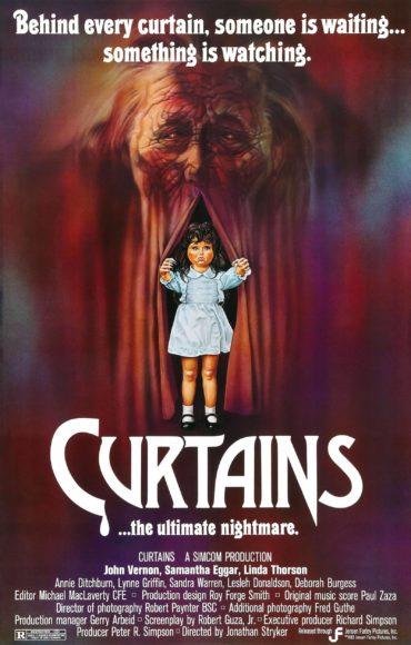 Curtains (film) Font