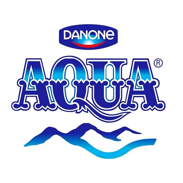 danone aqua logo font-min