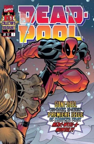 Deadpool (Comics) Font