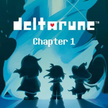 Deltarune Logo Font