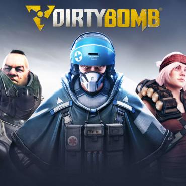 Dirty Bomb Font