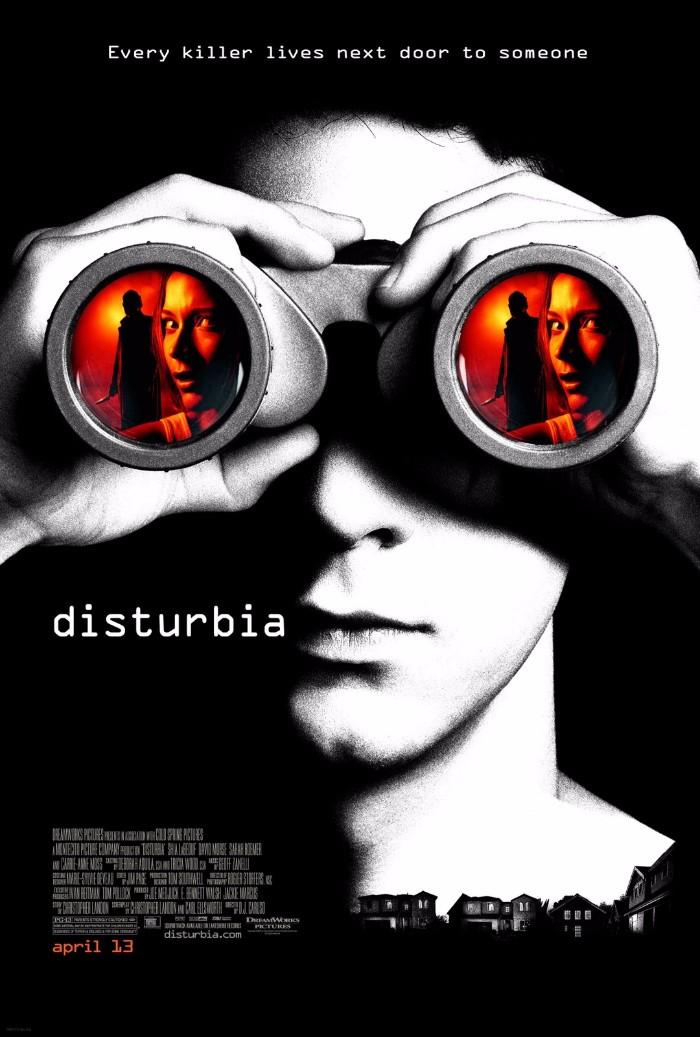 disturbia film font (1)