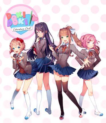 Doki Doki Literature Club Font