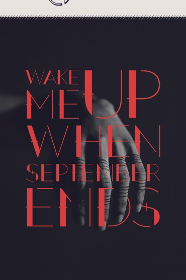 September – Free Decorative Font