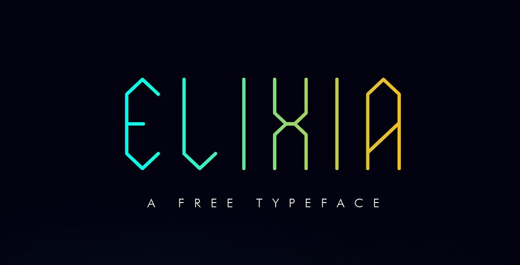 elixia font