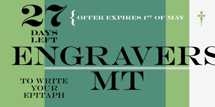 engravers-font