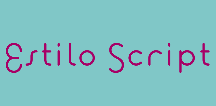 estilo-script-font