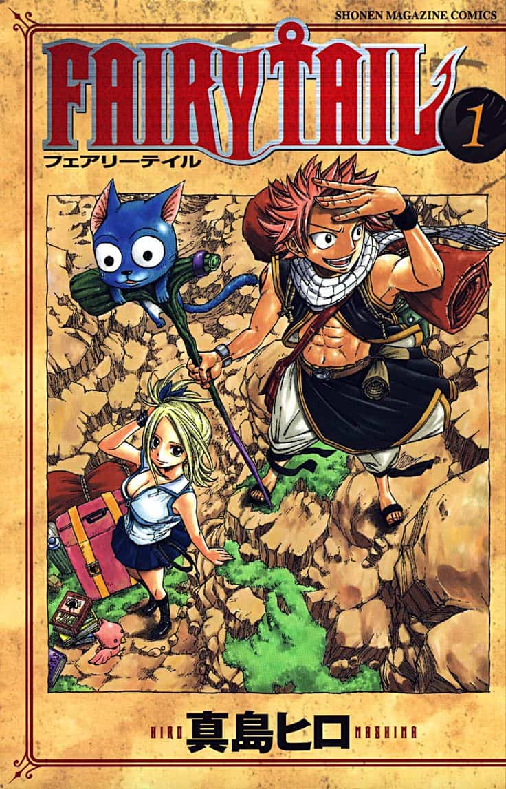 fairy tail manga v1