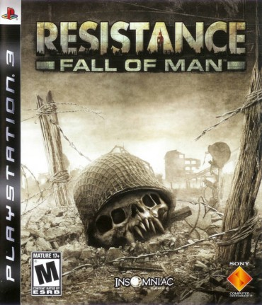 Resistance Fall of Man Font