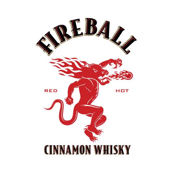 Fireball Whisky Logo Font
