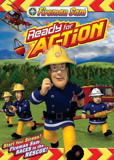 Feuerwehrmann-Sam-Schriftart