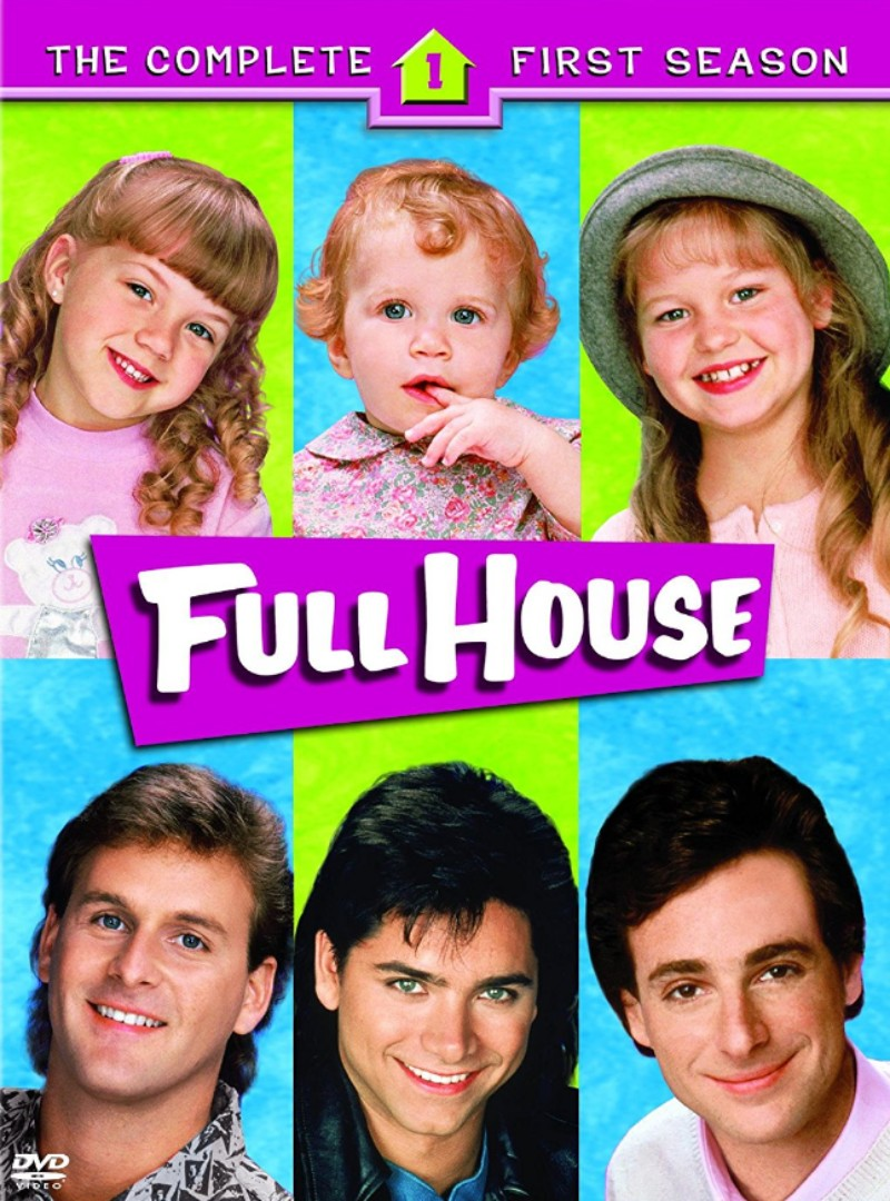 full house tv show font