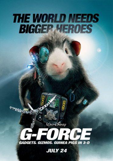 G-Force (film) Font