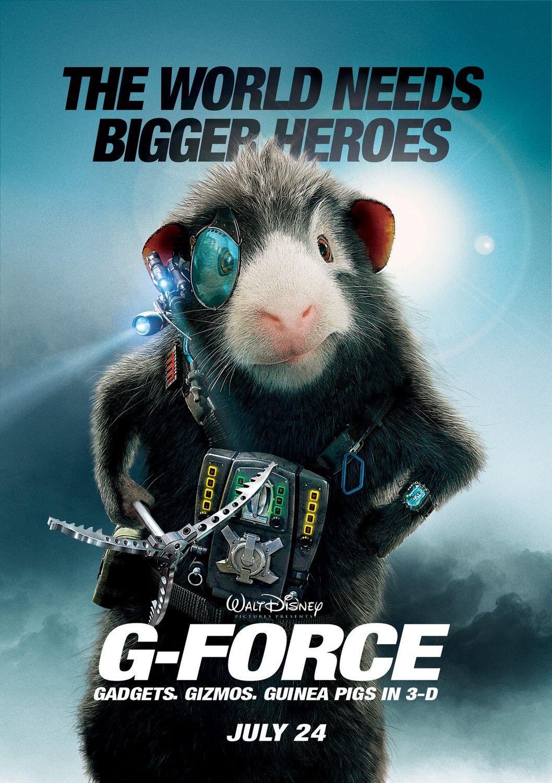 G Force Film Font
