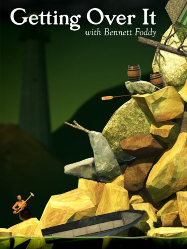 Getting Over It with Bennett Foddy Font