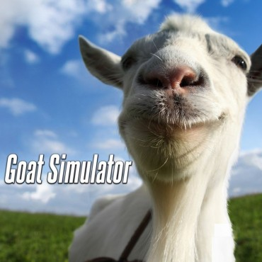 Goat simulator (Video Game) Font