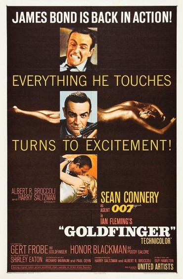 Goldfinger (Film) Font