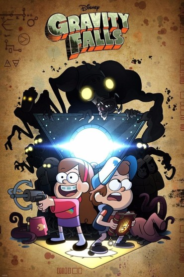 Gravity Falls (TV Show) Font