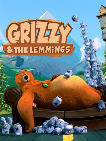 Grizzy and the Lemmings Font