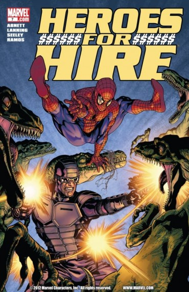Heroes for Hire Font