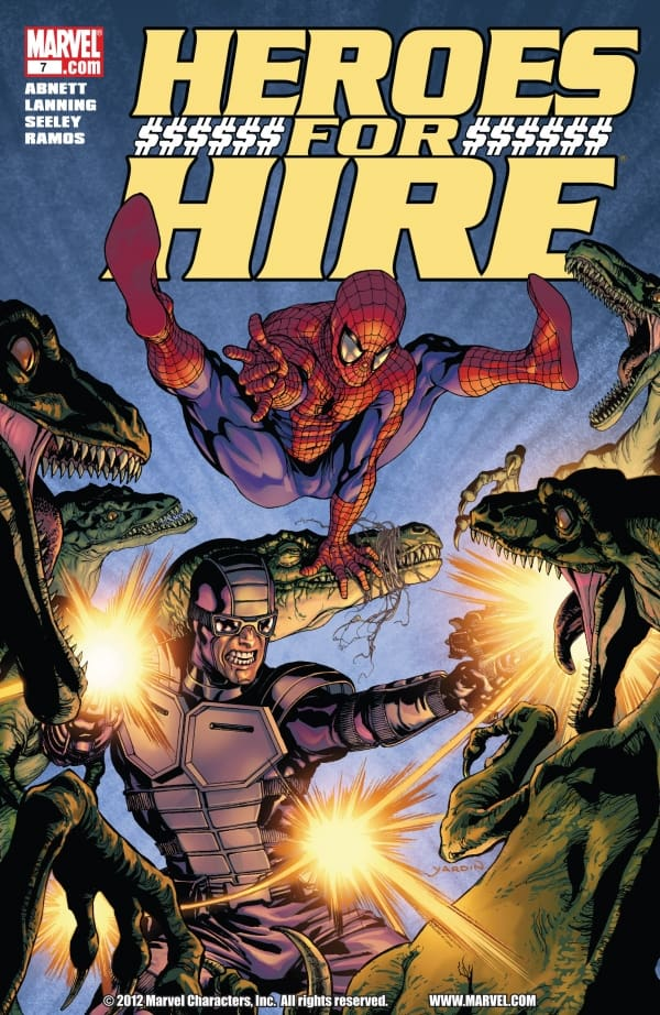 heroes for hire comics-min