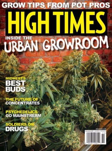 High Times (magazine) Font
