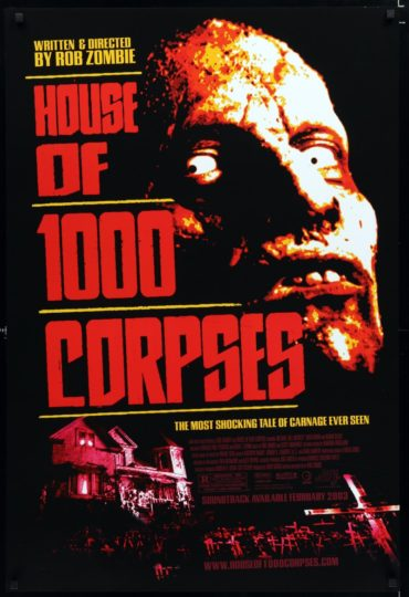 House of 1000 Corpses Font