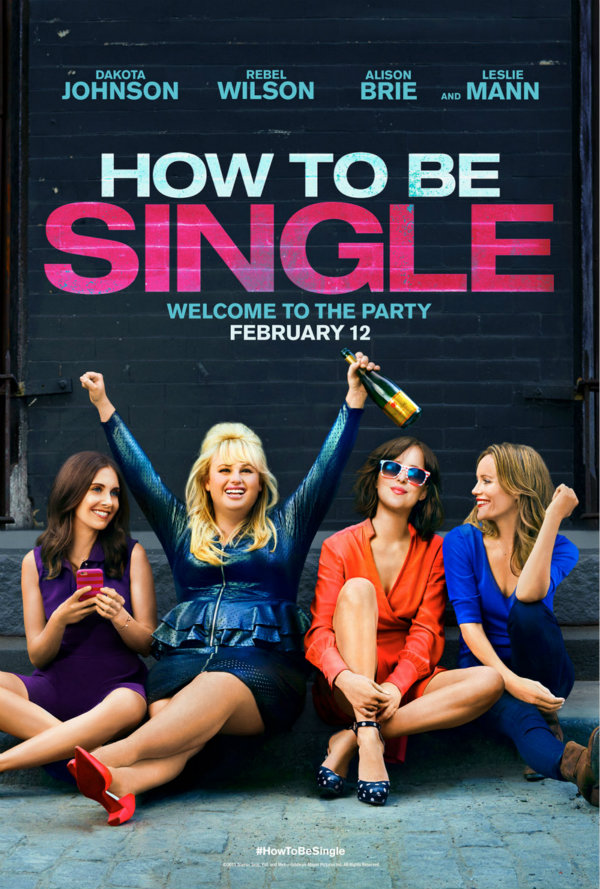 how to be single poster font_m