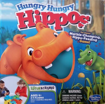 Hungry Hungry Hippos Font