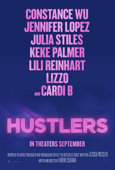 Hustlers (film) Font