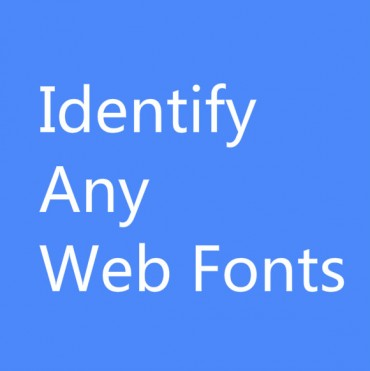 WhatFont : Identify Fonts Used on Any Website