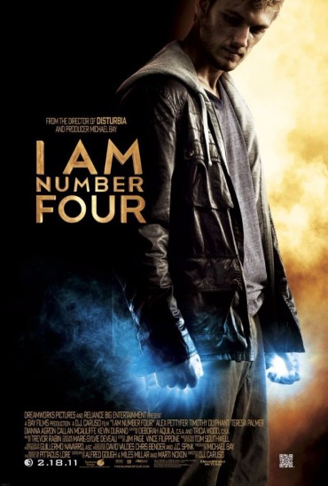 I Am Number Four Font