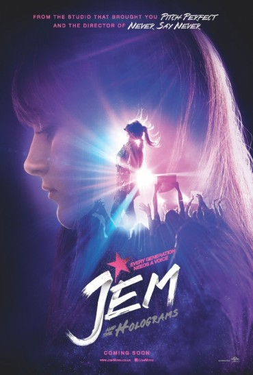 Jem and the Holograms Font