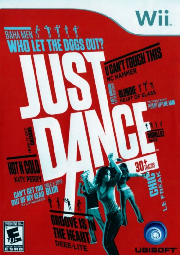 Just Dance (Video Game) Font