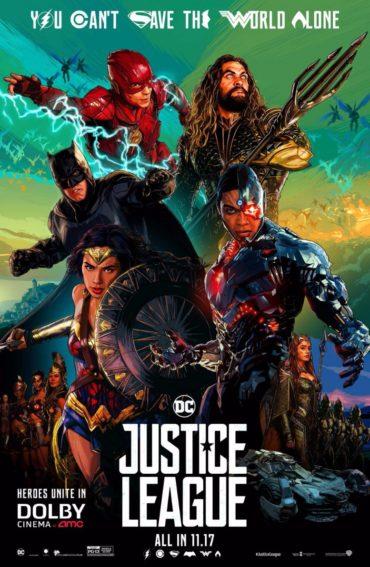 Justice League (film) Font