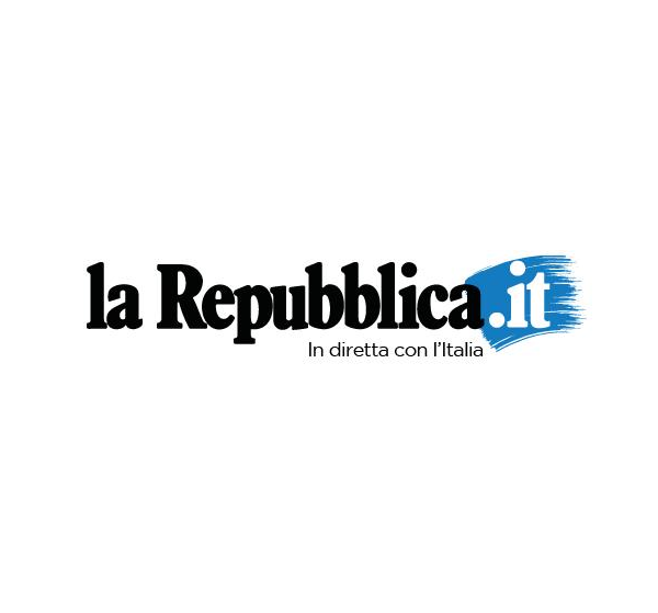 la repubblica logo font
