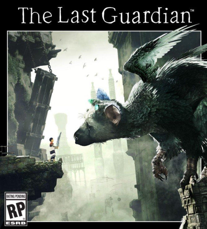 last guardian cover font
