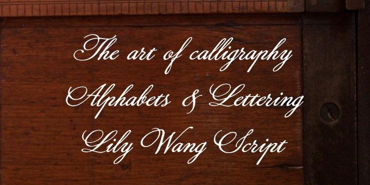 lily-wang-font