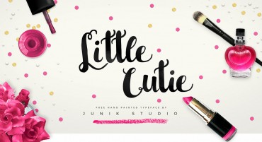 Little Cutie – Free Hand Painted Font
