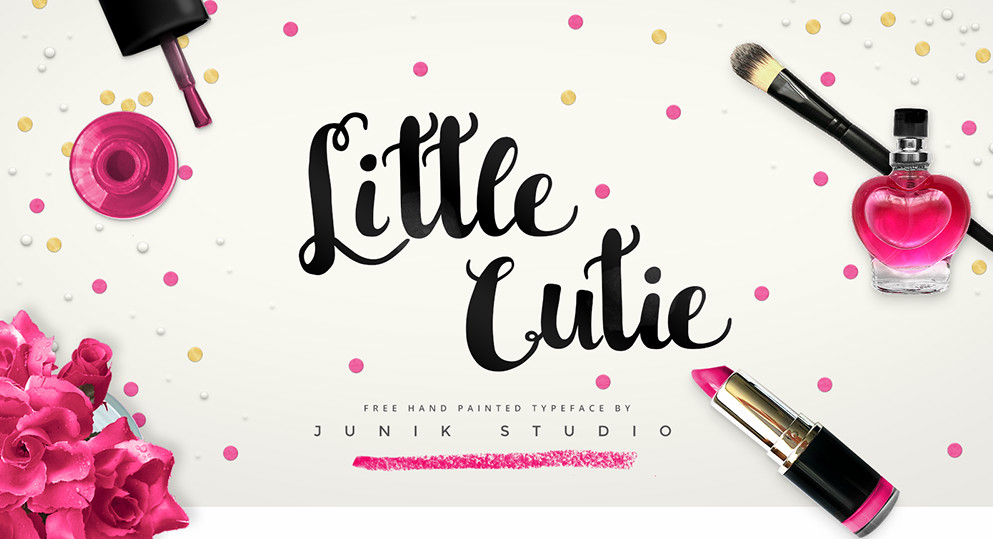 little cutie font sample 1