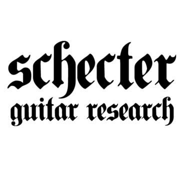 Schecter Guitar Research Font