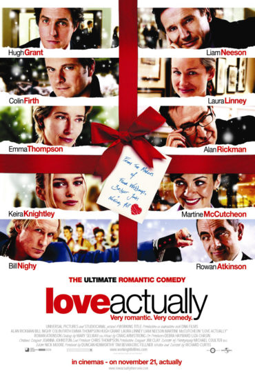Love Actually Font