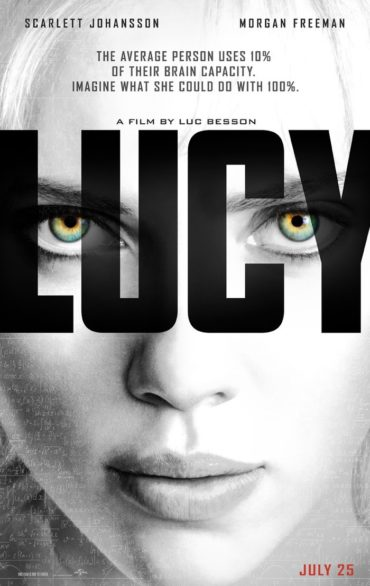 Lucy (film) Font