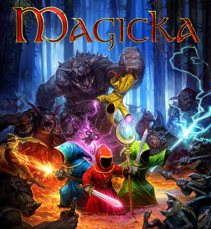 magicka game font
