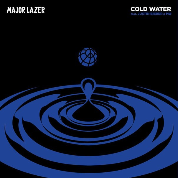 major lazer cold water font