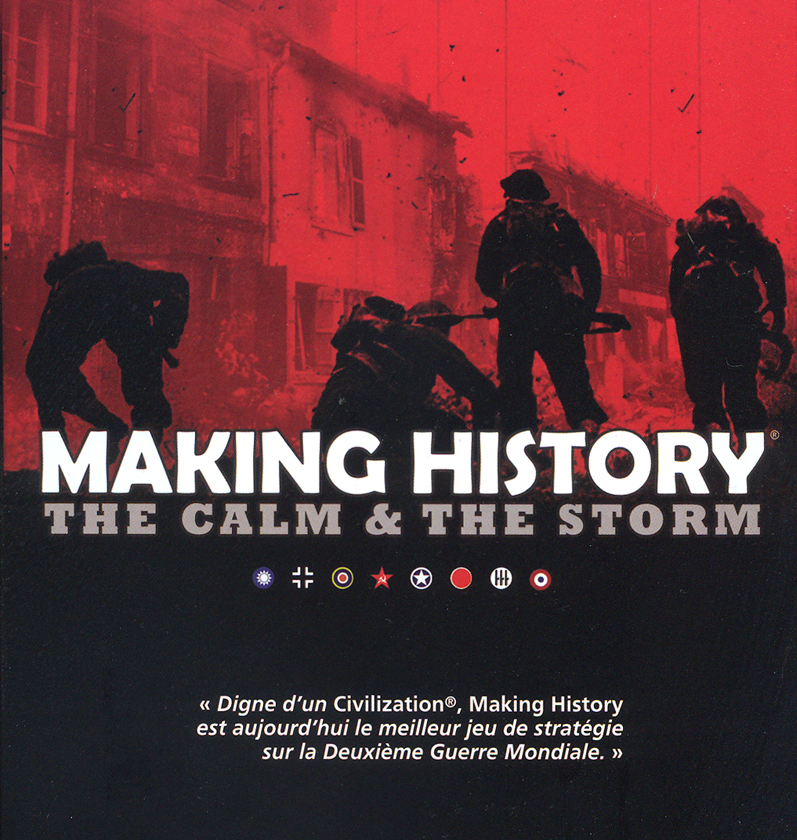 making history game box art