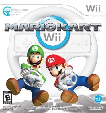 Mario Kart Wii Font