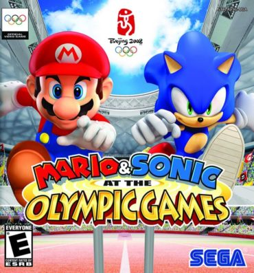 Mario & Sonic at the Olympic Games Font