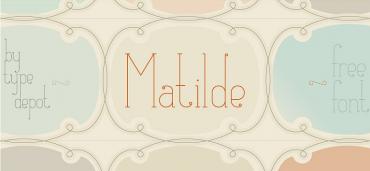 Matilde – Free Ultra-Thin Font