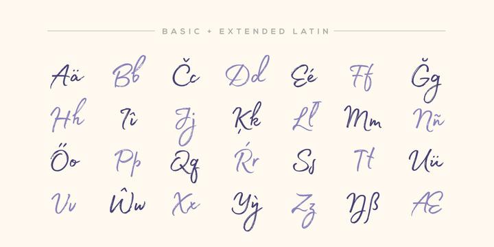 Madelyn – Handwritten Script Font by Fontfabric